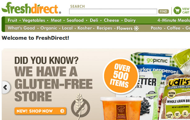 FreshDirect – a Groundbreaker Gets a Logo