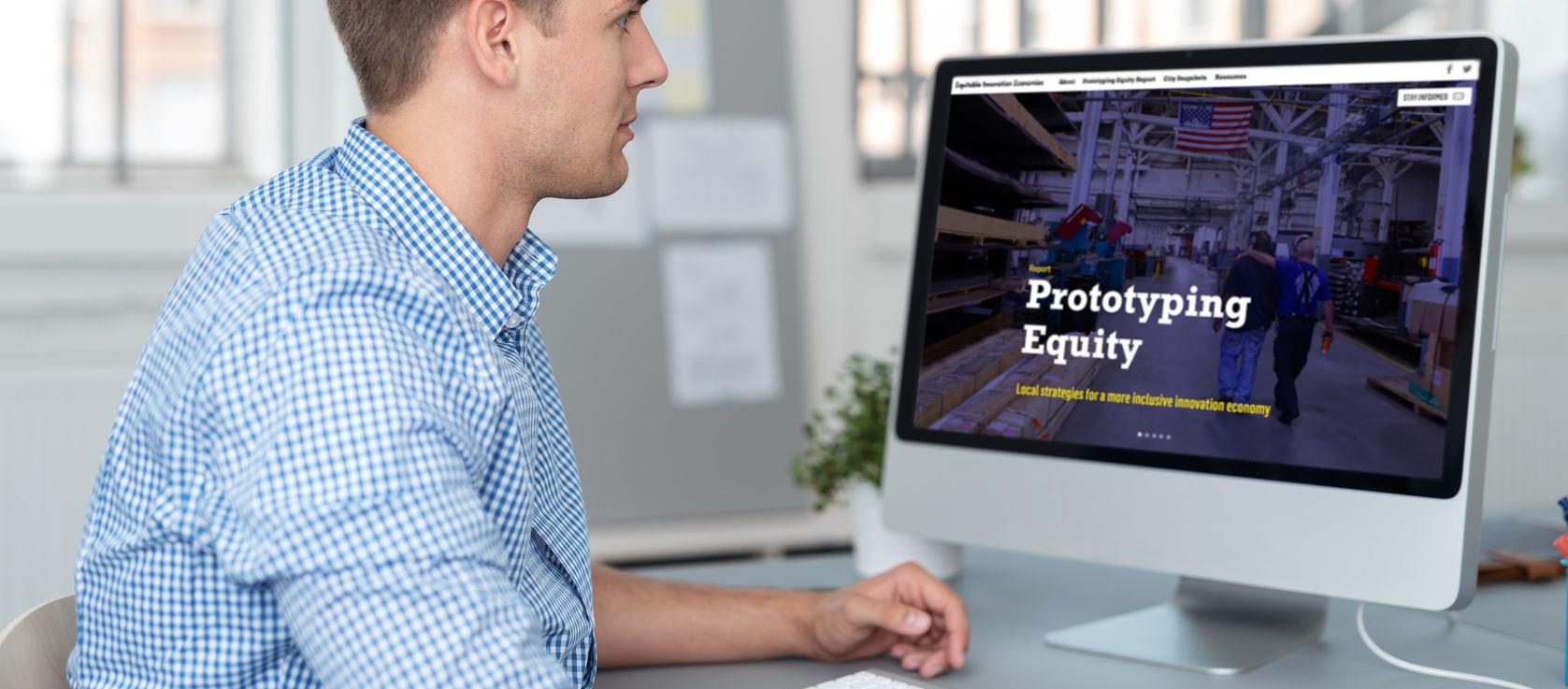 Equitable Innovation Economies website